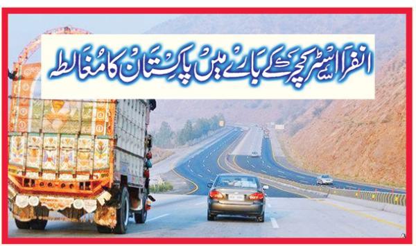 Infrastructure Ke Bare Main Pakistan Ka