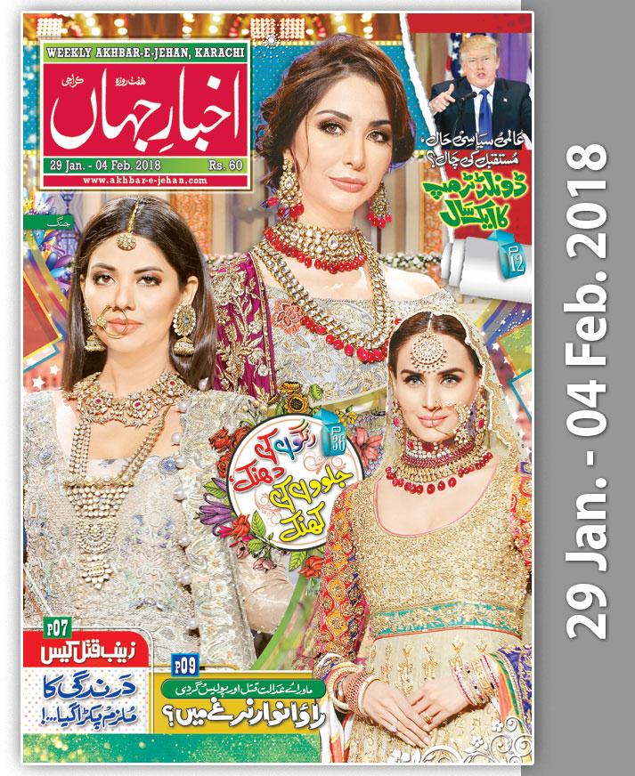 Akhbar e Jehan 2013-14 In Urdu Weekly - Epaper ; Daily 96